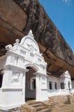 Entrance to Dambulla Rock Temple, Sri Lanka Stock Photo