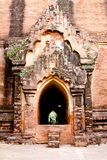 The entrance to Dhammayangyi temple, Bagan, Myanma Stock Image