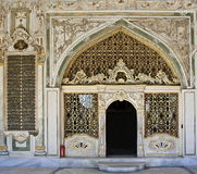 Entrance to Divan. Topkapi Palace, Istanbul Stock Photos