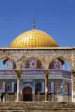 Dome of the Rock Entrance Royalty Free Stock Photo