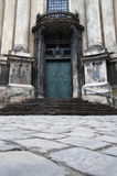 Entrance to the Dominican church Royalty Free Stock Image