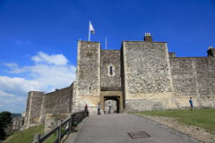 Entrance to Dover castle Royalty Free Stock Photography
