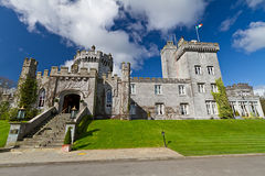 Entrance to Dromoland Castle Royalty Free Stock Image