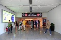 Entrance to Dubai Mall Stock Photo