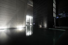 Entrance to dubai skyscraper Royalty Free Stock Photography