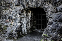 Entrance to the dungeons Royalty Free Stock Photo