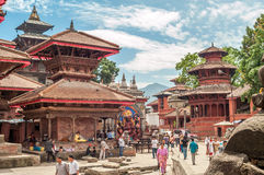 Entrance to Durbar Square Stock Image