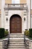 Entrance to elegant house Royalty Free Stock Images