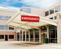 Entrance to emergency room Royalty Free Stock Photo