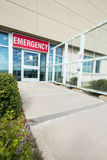Entrance To Emergency Room At Hospital Stock Images