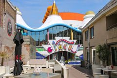 Entrance to entertainment center Zandvoort Circus. Royalty Free Stock Images