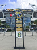 Entrance to EverBank Field Royalty Free Stock Photo