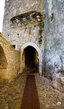Entrance to Eze Village Royalty Free Stock Photo