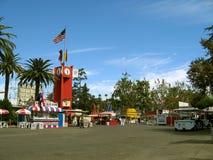 Entrance to the Fairgrounds, Los Angeles County Fair, Fairplex, Pomona, California. Entrance to the Fairgrounds,, Los Angeles County Fair, Fairplex, Pomona Royalty Free Stock Photos