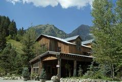 Sundance Lodge. Entrance to the famous Sundance lodge Royalty Free Stock Photo