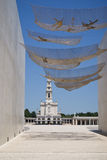 Entrance to Fatima sanctuary Royalty Free Stock Photography