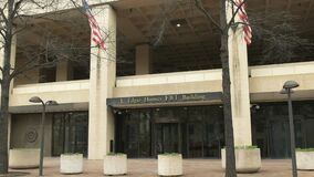Entrance to the fbi building in washington d.c.