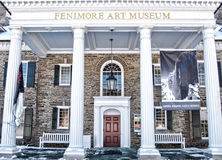 Entrance  to the Fenimore Art Museum Royalty Free Stock Photo