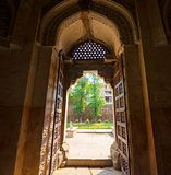Entrance to Firoz Shah tomb, Delhi, India Royalty Free Stock Photos