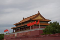 Entrance to Forbidden City, Beijing Royalty Free Stock Images