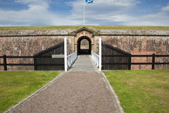 Entrance to Fort George Royalty Free Stock Photos