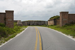 Entrance to Fort Pickens Stock Photos