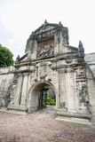 Entrance to Fort Santiago in the Intramuros, Manila, Philippines Royalty Free Stock Images