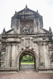 Entrance to Fort Santiago in the Intramuros, Manila, Philippines Royalty Free Stock Photos