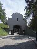 Entrance to fortified Vyšehrad, Prague Royalty Free Stock Photography