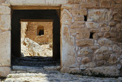 Entrance to the fortress. Stock Photography