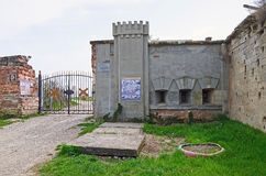 The entrance to the Fortress in Kerch Royalty Free Stock Photos