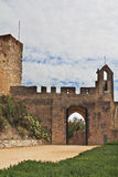 The entrance to the fortress of the Knights Templar Stock Photos