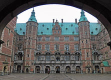 An Entrance to Frederiksborg Palace Stock Photos