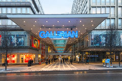 The entrance to Gallerian built in the 1970s and is the concept Royalty Free Stock Photography