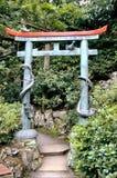Entrance To Garden Stock Photo