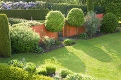 Entrance to the garden Stock Photo