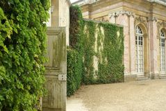 Entrance to the garden in Versailles, France Stock Photos