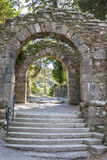 Entrance to Glendalough Stock Photo