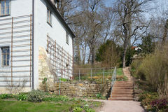 Entrance to the Goethe's garden, Weimar, Germany Stock Photography
