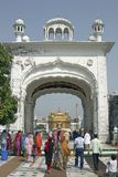 Entrance to the Golden Temple royalty free stock image