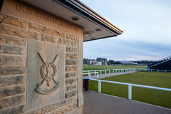 Entrance to the golf club in St. Andrews Stock Photo