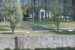 Entrance to Graceland, home of Elvis Presley, Memphis, TN Stock Photo