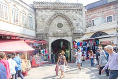 Entrance to the Grand Bazaar royalty free stock image