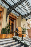 Entrance to the Grand Casino in Monte Carlo, Monaco Stock Photo