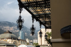 Entrance to the Grand Casino in Monte Carlo, Monaco Royalty Free Stock Photography