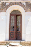 Entrance to the great temple of the monastery Dryanovo Royalty Free Stock Photo