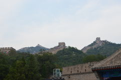 Entrance to the Great Wall of China stock image