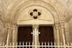 Jerusalem Greek Church Entrance Royalty Free Stock Photo