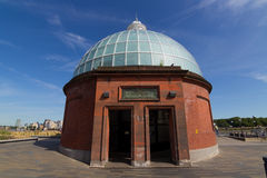 Entrance to the Greenwich Foot Tunnels Stock Image