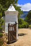 Entrance to Groot Constantia Royalty Free Stock Photo